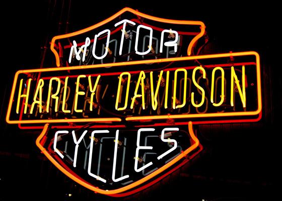 Harley neon2