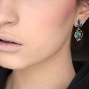 La Cuerba - Sea Avalon Earrings